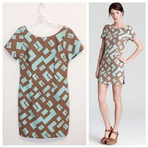 Tracy Reese Geometric Jacquard Shift Dress 6